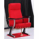 Удобный стул кино аудитории и театра ткани