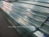 La toiture ondulée de fibre de verre de panneau de FRP/en verre de fibre lambrisse W171009