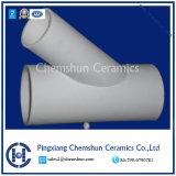 L'alumine céramique Y-tube pour le revêtement d'usure