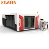 Feuillard de la machine de découpage de laser de câble fibre optique d'usine 1500*3000 1000W 1500W 2000W 3000W
