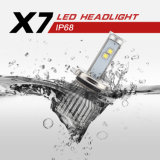 2017 Fábrica de China H11 LED Headlight Head accesorio de coche de la lámpara