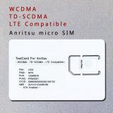 Anritsu Cmw500 Cmu200 Agilent 8960 3G 4G WCDMA TD-SCDMA Lte 이동 전화 마이크로 Nano SIM 시험 카드