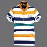 Form-dünner Sitz-Baumwollpolo-Hemd-Golf-Zoll 100% Selbst Entwurf für Männer