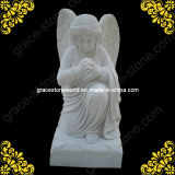 Sculpture sur Marbre Angel Monument de cimetière