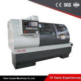 중국 수평한 금속 선반 기계 CNC Ck6140b