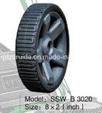 roda de borracha livre lisa da polegada 8X2 para os geradores de Ridgid (SSW-B3020)