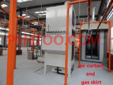 Powder Curing Oven anpassen für Electrostatic Powder Coating
