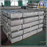 Placa de telhado de aço corrugado galvanizado revestido de aço inoxidável (304 316L 316Ti 317L 904L 2205 2507)