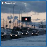 Schermo di visualizzazione chiaro pieno esterno di colore LED