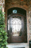 建築材料の前部錬鉄のドアの出入口デザイン