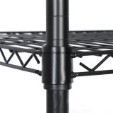 Des Kleber-5 Stahl-justierbare Draht-Fach-Zahnstange Reihe-der Schicht-120kg