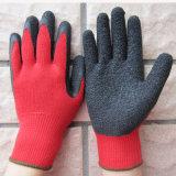 Calibre 10 Gants enduits de Latex gant de travail de la sécurité