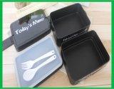 Caixa de almoço de boa capacidade de plástico agradável