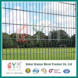 Twin Wire 656 Flat Mesh Fence Panels Doubles Loop Wire Fence