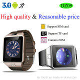Bluetooth Smart Watch Teléfono con cámara de 2,0 m (DZ09)