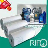 Papier synthétique BOPP à base d'alcool anti-graisse pour étiquettes Autocollants