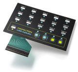 Flexible Membranschalter-Tastatur mit Beschaffenheits-Oberfläche kundenspezifischer Größe