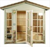 De nieuwe Zaal van de Stoom van de Cabine van de Sauna van de Zaal van de Sauna van het Ontwerp Droge Openlucht (ry-004B)