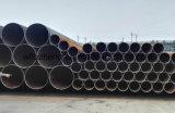 "El API 5L X42 24 "" Sch40 sea tubo de acero soldado capa negra de LSAW"