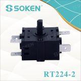 Mixer van Soken 3 de Roterende Schakelaar van de Manier 16A 250A T100 rt224-2