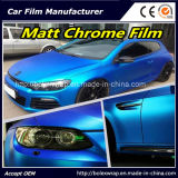 Filme de carro, filme de cromo mate, filme de vinil para filme de carro