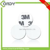 둥근 30mm 또는 디스크 또는 동전 RFID 꼬리표 125kHz 스티커