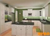 高品質標準白いホイルの台所家具