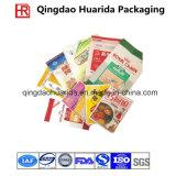 Nehmen seitliche Dichtung drei kundenspezifische Ordnungs-Plastikgewürz-Verpackungs-Beutel an