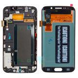 Экран LCD цифрователя касания индикации сотового телефона для края G925A G925t галактики S6 Samsung