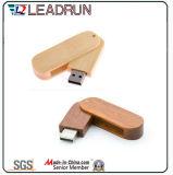 De houten Doos van de Schijf van de Sleutel van de Aandrijving van het Geheugen van de Stok van de Flits van het Bamboe USB (YLH202)