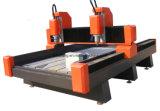 CNC Mh-1325 que talla el corte de la piedra del mármol del granito de los monumentos 3D que talla precio de la máquina