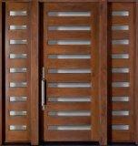 Puerta cortafuego de madera de la chapa