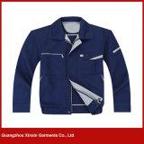 Fornecedor personalizado da roupa de trabalho das mulheres dos homens da boa qualidade (W142)