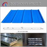 SGCC CGCC DX51d Span Color recubiertos de hojas de techos de cartón ondulado