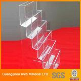 아크릴 플라스틱 전시 또는 플렉시 유리 진열대 또는 아크릴 PMMA 선반