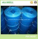 Boyau de dragage Layflat de l'eau de PVC d'irrigation d'agriculture de débit flexible en plastique d'irrigation