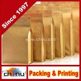 Sacchi di carta stampati di Kraft per alimento (220005)