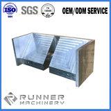 Высококачественный алюминиевый корпус для изготовителей оборудования с ЧПУ станок точного фрезерования часть станка от швейной машины со стороны