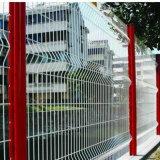 Rete fissa d'acciaio PVC-Rivestita per la strada