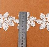 Variedad de color y las técnicas de bordado de encaje de Verano de la flor de nieve