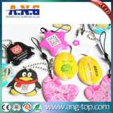 Chave Fob NFC epóxi personalizado / etiqueta de Chave de RFID de plástico passiva