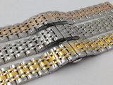 De Band van het Horloge van het roestvrij staal