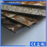 Comitato di alluminio Acm di Slivey/dorato specchio di Compoiste per la parete divisoria con il rivestimento di PVDF