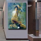공장 직접 고품질 Handmade 현대 화포 예술 인상파 발가벗은 여자 바디 유화