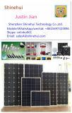 Luz de Emergência Solar Portátil e Lanterna Solar de Campainha LED