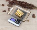 Échelle de pesée numérique de bijoux en or 0.01 Poids