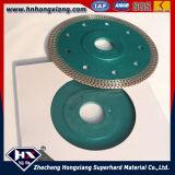 Wirbelsturm-Turbo-Diamant-Ineinander greifen-Blatt/Fliese-Ausschnitt-Blatt