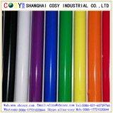 Venta caliente vinilo del corte del color de 80 micrones con la buena etiqueta engomada para la decoración