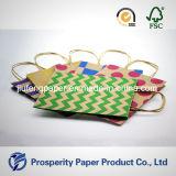 Напечатанная сумка бумаги Kraft конструкции