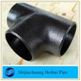 Nahtloser Rohrfitting-Krümmer, T-Stück, Reduzierstück und Schutzkappe des Kohlenstoffstahl-ASTM A234 Wpb